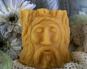 Wood Spirits Tree Man Silicone Candle Mold Silicone Molds Natures DIY Craft Wicca Religious Beeswax Molds