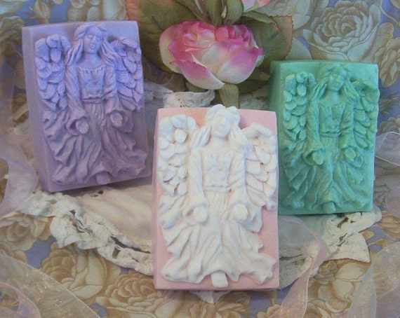 Gracious Open Hand Angel Silicone Soap Mold Heavenly Soap Bar Mold