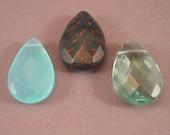 Blue Gemstone Briolettes