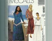 McCall's Misses' /Miss Petite Two-Piece Dress Pattern 2809