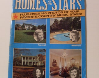1975 Homes of the Stars Book