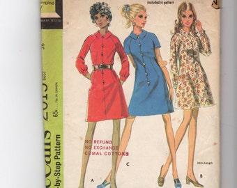 Vintage Misses  Dress Pattern 2015