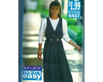 See and Sew Dress Pattern 6447