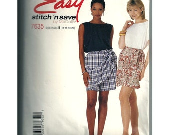 Stitch and Save by McCalls Sewing Pattern 7635