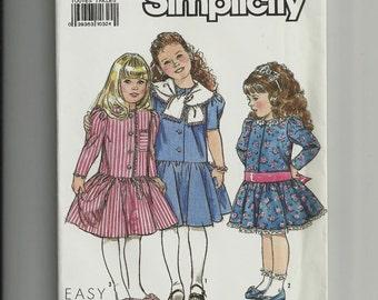 Simplicity Child's Dress Pattern 9759