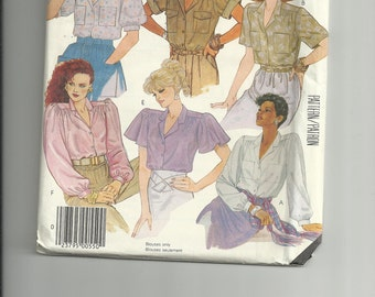 McCall's Misses'  Blouses Pattern 2955