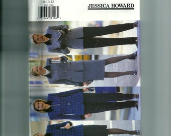 Butterick Misses' /Misses' Petite Jacket, Skirt, and Pants Pattern 5695