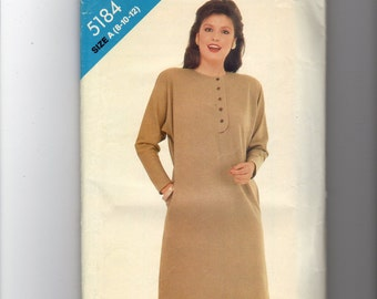 See and Sew Dress Pattern 5184