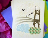 St. Johns Bridge Notecards