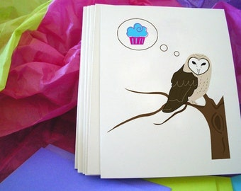 Barn Owl Notecards
