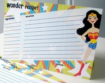 Wonder Recipe Cards