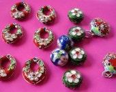 Cloisonne Bead Set Lot - Supplies