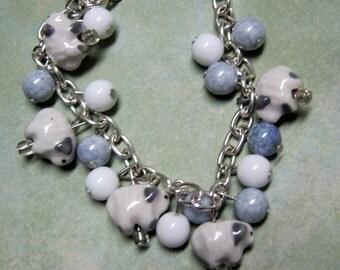 Bo Peep Charm Bracelet