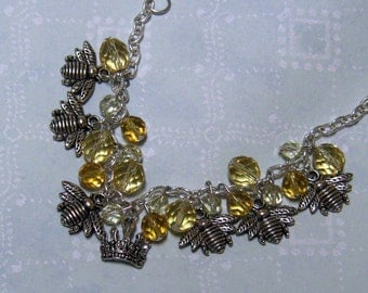 Queen Bee Charm Bracelet