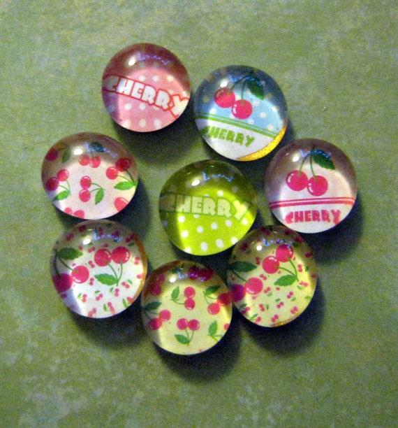 Cherries Galore MiniMagnet Set