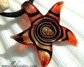 Swirl Glass Star Necklace