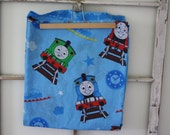 Thomas the Tank Engine-Reclaimed Fabric