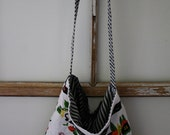Upcycled Tea Towel Market Tote