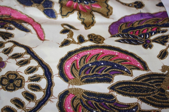 Indian Print Floral Fabric