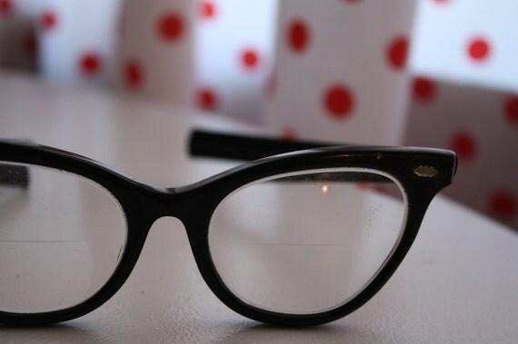 Vintage Cateye Glasses