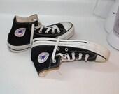 Converse Hi-Tops.  Black.  Chuck Taylor.  Size 5.5.
