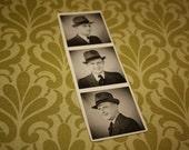 Photobooth Photo Strip... Original Old Photo.