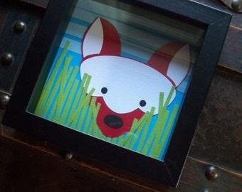 The Little Fox Shadowbox