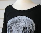 Giant Moon Black Slub Top