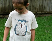 Little Owl Organic Toddler Shirt