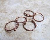 16 Gauge Copper Connectors/Links - 5 pieces