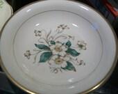Vintage 1950 Edwin Knowles Carolina Dinnerware magnolia dogwood blossom pasta soup salad bowls 2