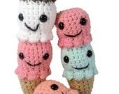 PATTERN Ice Cream Cones Amigurumi