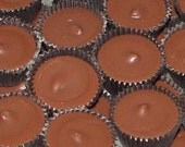 Peanut Butter Cup - 20 Premium Hand Dipped Incense Sticks or Cones - MADE TO ORDER - Check Out the New 4 Inch Mini Sticks