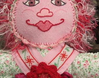 Rosie, An Art Doll