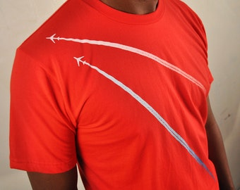 Jumbo Jets fall in love Red T