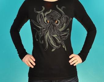 16 arm octopus LONGSLonly size Large