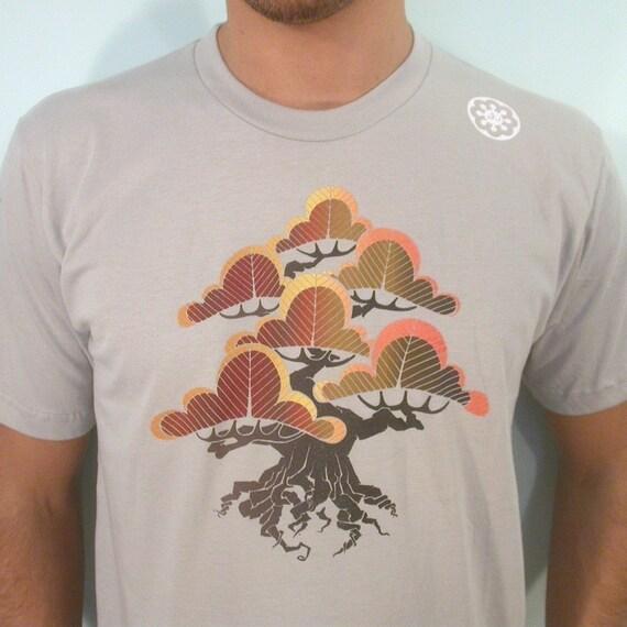 Ancient Flying Bonsai Tree mens T S.L and XL