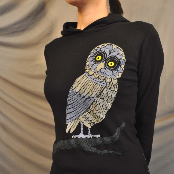Hood Swamp Owl Pullover only  XL