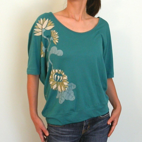 KiKu Bright Blue LooSe fiT shirt