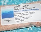 Himalayan Salts  5 oz. Natural Therapeutic Minerals