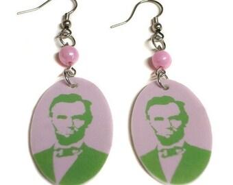 Abraham Lincoln Earrings