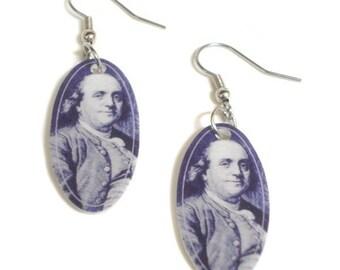 Benjamin Franklin Earrings