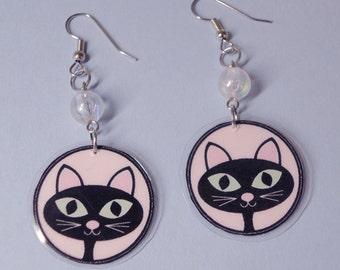 Sassy Kitty Earrings