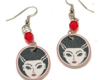 FrankenBride Earrings
