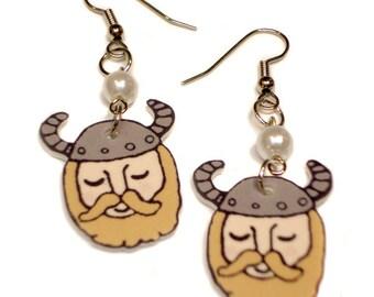 Vivacious Viking Earrings