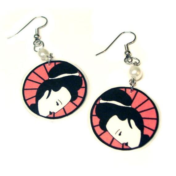 Pretty Geisha Earrings