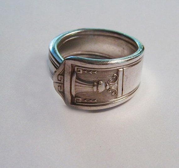 Spoon Jewelry Ring Recycled Silver Spoon Century Custom Size