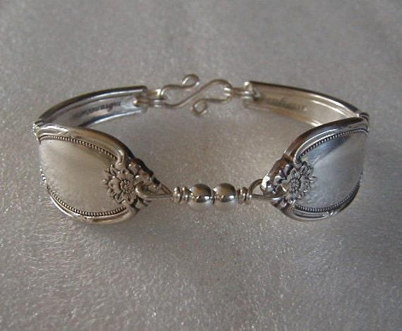 silver spoon bracelet silverware jewelry remembrance sterling