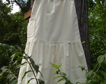 CUSTOM.... -HeMP- PeTTiCoaT-SKiRT... ECO and SWeeT...PeRFeCT for FaLL...