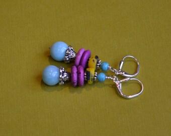 Kaleidoscope of colors earrings - 3